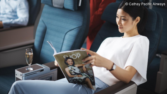 More Comfort on the Premium Economy Class