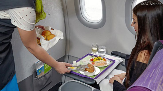 S7 Airlines Bordservice Business Class