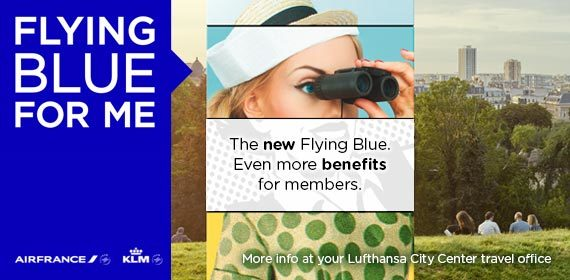 The new Flying Blue