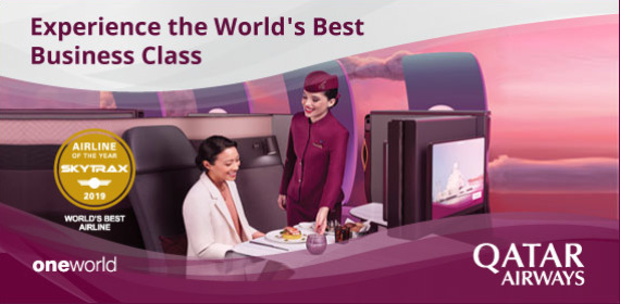 Experience the World's Best Business Class